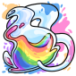 Rainbow Makoat Morphing Potion
