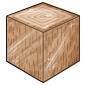 Walnut Wood Ice Cube