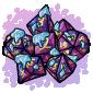 Nebula Dice Set