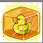 Yellow Ducky Ice Cube