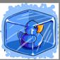Blue Ducky Ice Cube