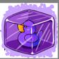 Purple Ducky Ice Cube