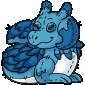 Blue Lugra Plushie