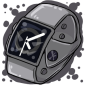 Space Grey Dark Apple Watch