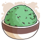 Bizarre Minty Fresh Ice Cream
