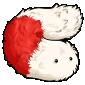 Peppermint Candypillar Plushie