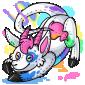 Rainbow Makoat Plush