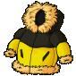 Yellow Puffy Winter Jacket