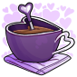 Purple Heart Mug Drink