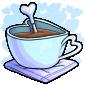 Blue Heart Mug Drink