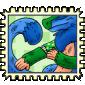 Amourok Plushie Veteran Stamp
