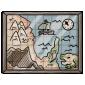 Framed Cartographer's Map
