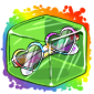 Rainbow Heart Sunglasses Ice Cube