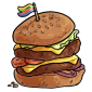 Decked Out Burger