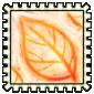 Leaf Rubbing Stamp