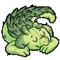 Sleeping Baby Lugra Plushie
