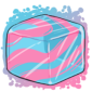 Cottoncandy Ice Cube