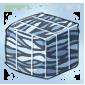 Zebra Duct Tape Ice Cube