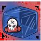 Skater Sticker Ice Cube