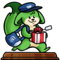 Holiday Delivery Figurine