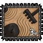 Zen Garden Stamp