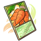 Carrot Trading Card