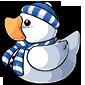 Snowman Ducky