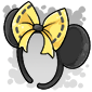 Yellow Bow Mouse Ears