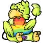 Cheerful Baby Dovu Plushie