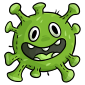 Green Microbe Plushie