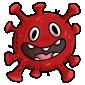 Red Microbe Plushie