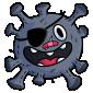 Pirate Microbe Plushie