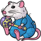 Sweet Dreams Rattie Plush