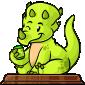 Team Green Trido Figurine