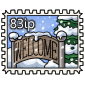 Welcoming Stamp