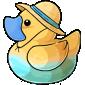 Beach Hat Ducky