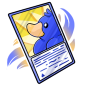 Blue Ducky Trading Card