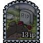 Empty Grave Stamp