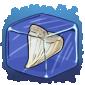 Shark Tooth Ice Cube