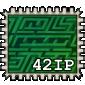 Hedge Maze Stamp