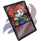 Creepy Doll Trading Card