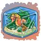 Sea Horse Ice Cube