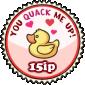 You Quack Me Up Stamp