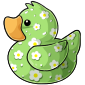 Floral Ducky