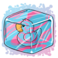 Cottoncandy Ducky Ice Cube