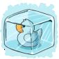 Ice Ducky Ice Cube