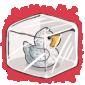 Snowdrift Ducky Ice Cube