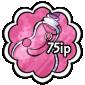 Pink Snow Jar Stamp