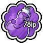 Purple Snow Jar Stamp