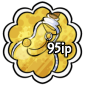 Yellow Snow Jar Stamp